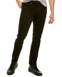 Levi's Black Levi's 512 Nightshine Slim Tapered Leg Jean for men