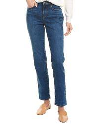 NYDJ Blue Sheri Presidio Slim Skinny Leg Jean