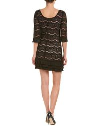 Julia Jordan - Black Shift Dress - Lyst