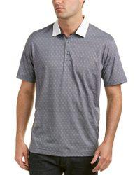 Robert Graham Gray Osaka Classic Fit Polo Shirt for men