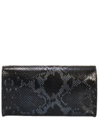 Giorgio Costa Black Leather Clutch
