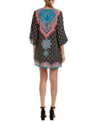 Tolani - Black Veera Silk Shift Dress - Lyst