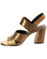 Kenneth Cole Multicolor New York Lauralynn Leather Sandal