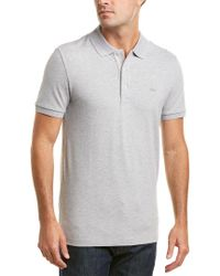 Lacoste Gray Slim Fit Polo for men