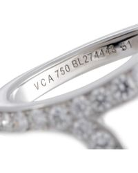 Heritage Van Cleef & Arpels - Metallic Van Cleef & Arpels 18k 1.10 Ct. Tw. Diamond Ring - Lyst