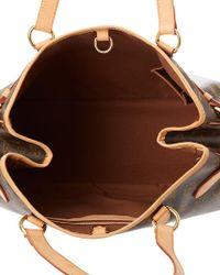 Louis Vuitton Brown Monogram Canvas Batignolles Horizontal