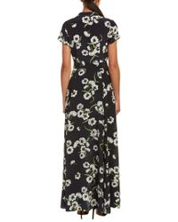 Yumi Kim Black Silk Maxi Dress