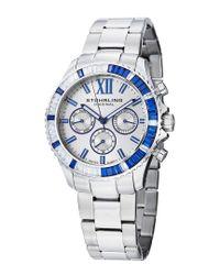 Stuhrling Original Blue Women's Coronia Watch