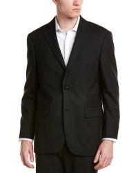 Brooks Brothers Black Madison Fit Wool-blend Jacket for men