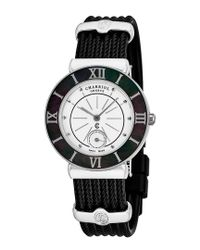 Charriol Black Women's St Tropez Watch for men