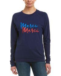 Chrldr Blue Graphic T-shirt