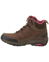 New Balance - Brown Women's 1400 Leather Hiking Boot - Lyst