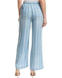 BILLY T Blue Stripe Pant