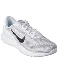 Lyst Nike Flex Donna Flex Nike Tr 7 Training scarpe in bianca c27abd