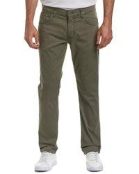 Hudson Blake Infantry Green Slim Straight Leg for men