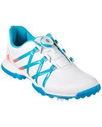 Adidas Originals Blue Adipure Boost Boa Golf Shoe