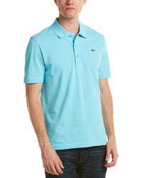 Lacoste Blue Sport Golf Super Light Polo Shirt for men
