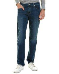 Joe's Jeans Blue The Brixton Hank Straight Leg for men