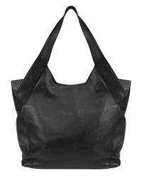 Kooba Black Oakland Leather Tobo(tote/hobo)