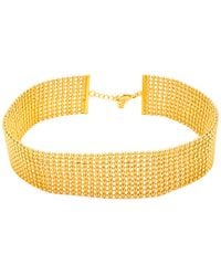Gorjana - Metallic Newport 18k Plated Choker Necklace - Lyst