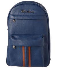 Robert Graham - Blue Bolton Landing Leather Backpack for Men - Lyst