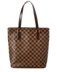 Louis Vuitton - Brown Damier Ebene Canvas Vavin Gm - Lyst