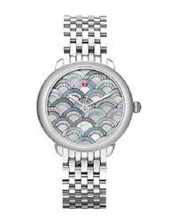 707adda5bb8 Michele Serein Watch in Metallic - Lyst