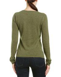Quinn Green Cashmere Sweater