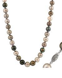 Splendid - Multicolor 14k 9-11mm Freshwater Pearl Necklace - Lyst