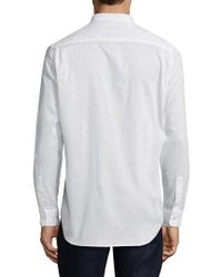 Jachs White Bib Tunic Sportshirt for men