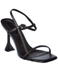 Alias Mae Black Tarrah Leather Sandal