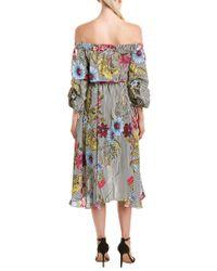 Gracia Multicolor A-line Dress