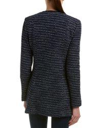 Nanette Lepore Blue Wool-blend Jacket