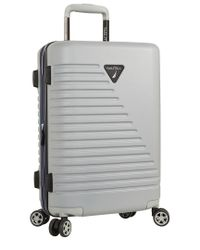 Nautica Gray Hardside Carry On Luggage for men