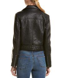 Joe's Jeans Black Moto Jacket