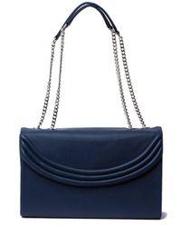 Lauren Cecchi New York | Blue Luxe Navy Large Cross Body Bag | Lyst