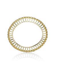 Yael Salomon | Metallic Ella 10 Gold And Crystal Bangle | Lyst
