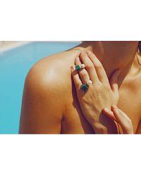 Eshvi - Multicolor Back To School Marble Ring Set - Lyst