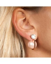 Leivan Kash | Multicolor Yan Rose Gold Earring | Lyst