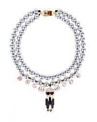 Bijoux De Famille - Metallic Karl Necklace - Lyst