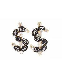 Bijoux De Famille | Metallic Fashion Dollar Earrings - Multi | Lyst