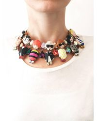 Bijoux De Famille - Multicolor Dress Me Choker Necklace - Lyst