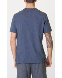 RVCA - Blue Compound Knit Shirt for Men - Lyst