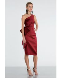 Sachin & Babi | Red Audrey Dress - Garnet | Lyst