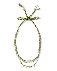 Venessa Arizaga | Multicolor Happy Talk Necklace | Lyst