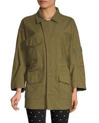 Current/Elliott Green The Updated Infantry Jacket