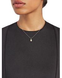 Sydney Evan Metallic Diamond, Ruby & 14k Yellow Gold Hamsa Pendant