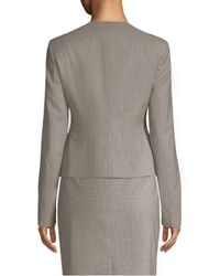 BOSS Gray Javilla Wool Jacket
