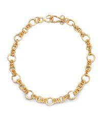 Stephanie Kantis - Metallic Coronation Small Chain Necklace/18 - Lyst