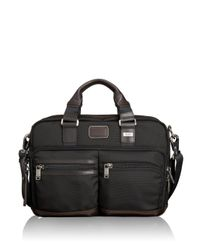 Tumi | Black Alpha Bravo Andersen Slim Commuter Brief Case for Men | Lyst